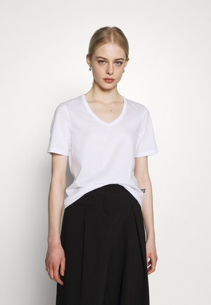 NUDMEG - Jednoduché triko - bright white