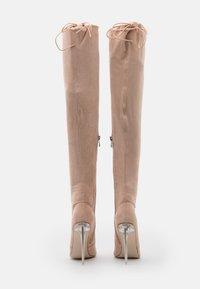 BEBO - MAKAYLA - High heeled boots - nude - 3