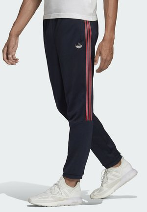 3-STRIPES TRACKSUIT BOTTOM - Tracksuit bottoms - blue