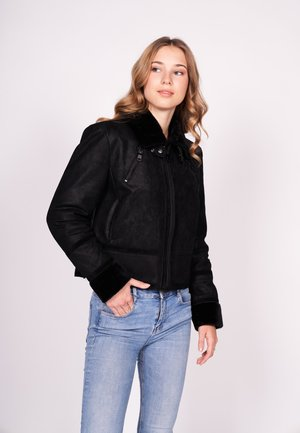 SWEET COLD-FN - Winter jacket - black/black