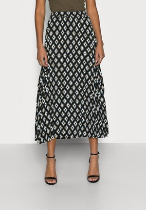 ONLALMA LIFE PLISSE SKIRT - Pencil skirt - black