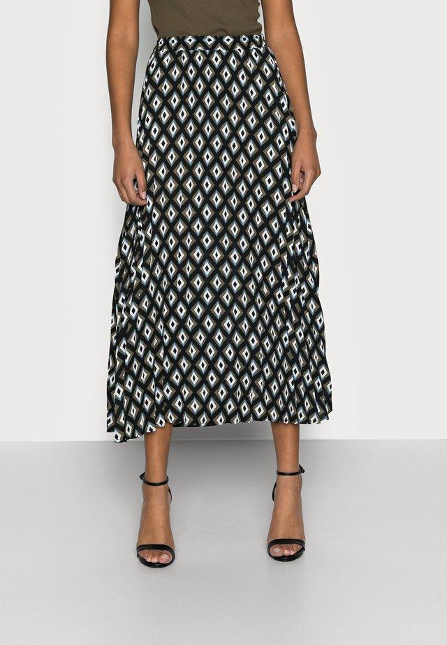 ONLALMA LIFE PLISSE SKIRT - Pencil skirt - black