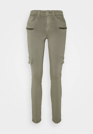 VMHONNISEVEN SLIM - Slim fit jeans - bungee cord