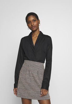 ELIETTE - Button-down blouse - schwarz