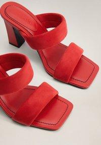Mango - DOS - Sandaler - rood - 3