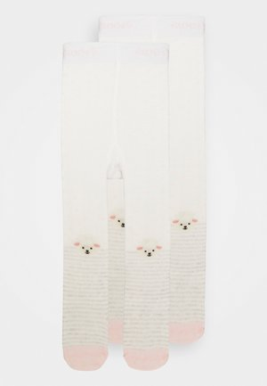 SHEEP PLAIN 2 PACK - Panty - pink/white
