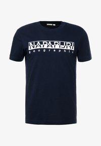 Napapijri - EMBRO - T-shirts print - blue - 4