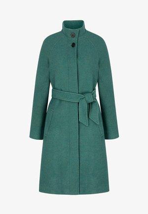 Down coat - salbeigrün