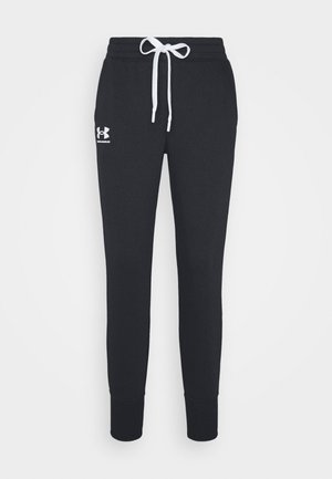 RIVAL JOGGERS - Tracksuit bottoms - black