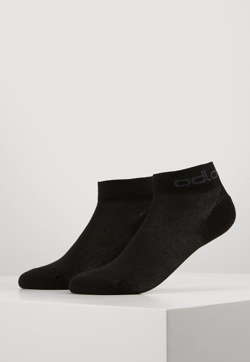 ODLO - LOW ACTIVE 2 PACK - Sportovní ponožky - black