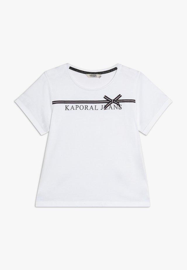 JEFFE - Print T-shirt - white