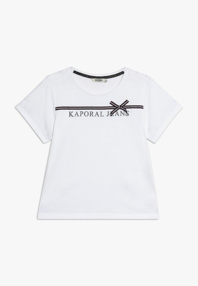 Kaporal - JEFFE - Printtipaita - white
