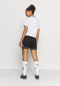 adidas Performance - SQUAD - Sports shorts - black/white - 2
