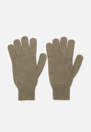 AFIGO GLOVES - Gloves - soft moss
