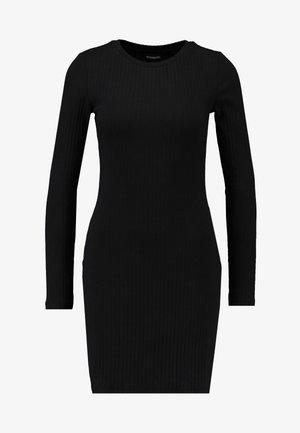JERSEYKLEID BASIC - Shift dress - black