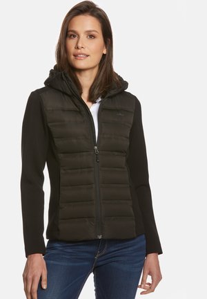 JONNA HYBRID - Down jacket - black