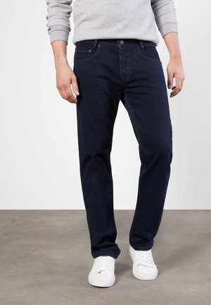 Straight leg jeans - blue/black