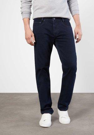 Jeans straight leg - blue/black