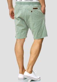 INDICODE JEANS - CARVER - Denim shorts - blue surf - 2