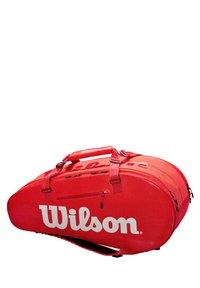 "Wilson - WILSON TENNISTASCHE ""LARGE SUPER TOUR 2"" - Sports bag - red - 0"