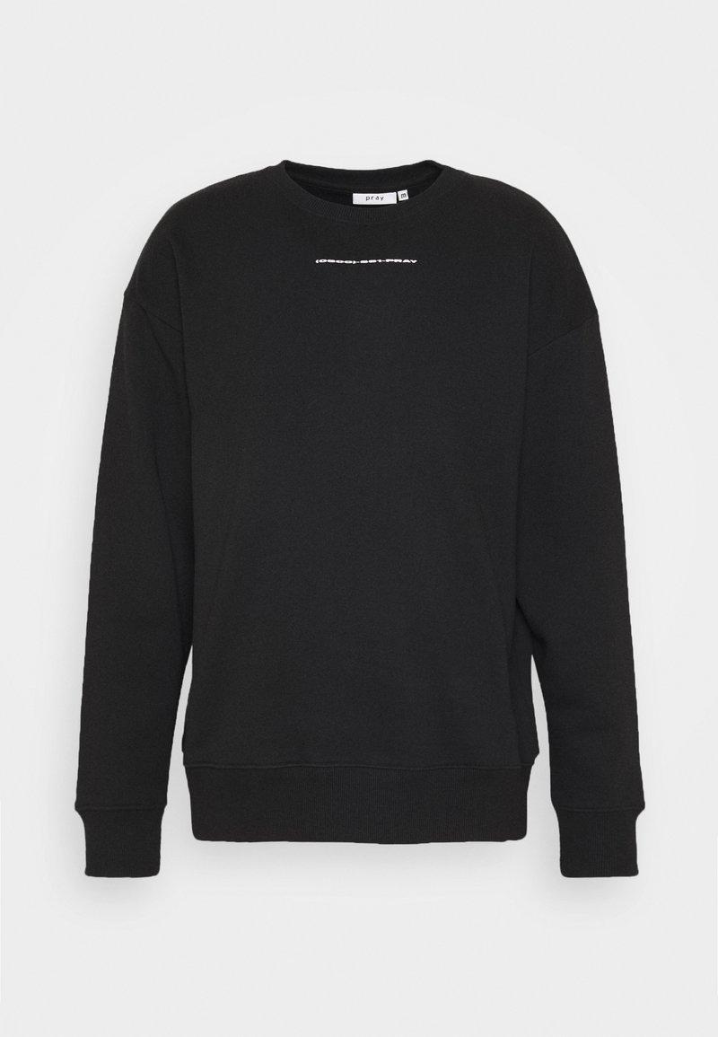 PRAY - TRANCE MISSIONLONG SLEEVE UNISEX  - Sweatshirt - black