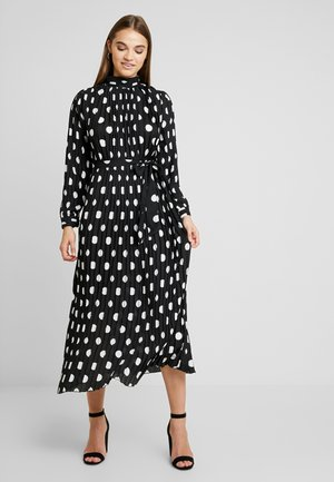 SPOT MAXI DRESS - Ballkleid - black/white