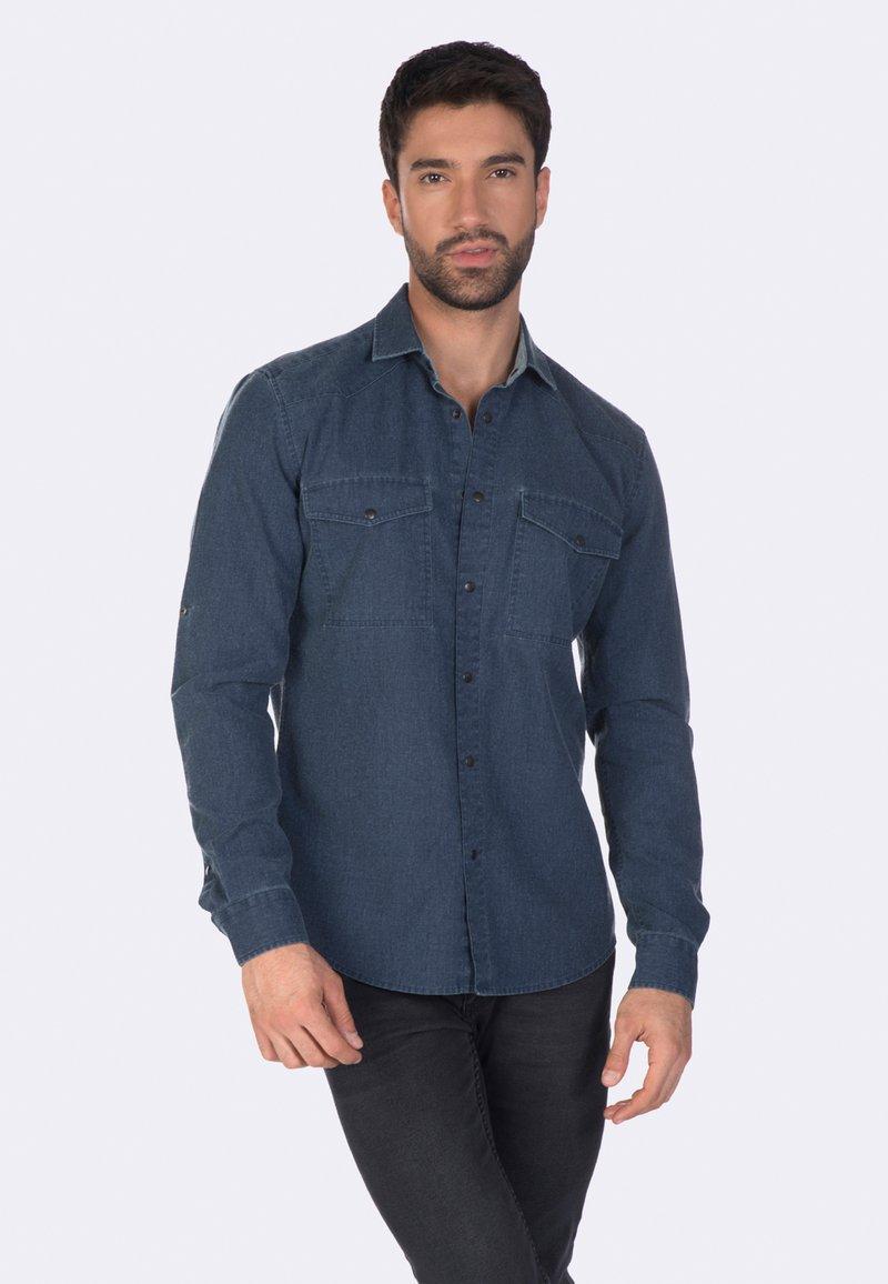 Felix Hardy - Overhemd - indigo