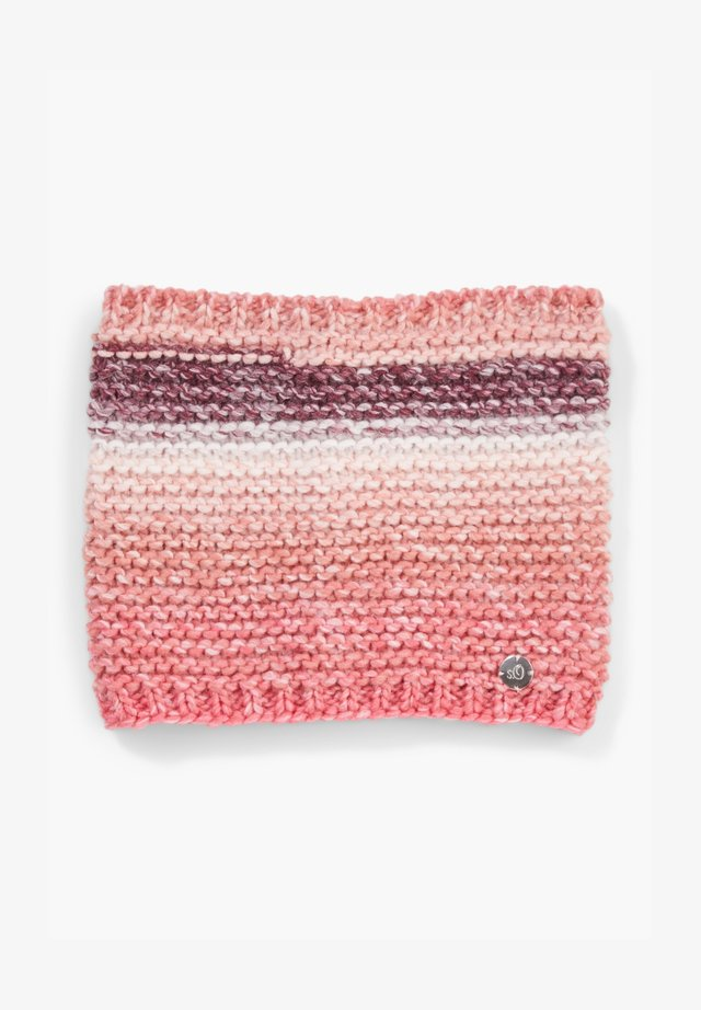Snood - light pink knit