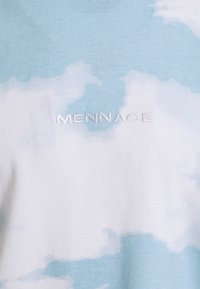 Mennace - SUNDAZE CLOUD PRINT UNISEX - T-shirt con stampa - blue - 2
