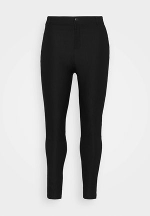 VMAUGUSTA SKINNY SOLID PANT - Leggings - Trousers - black