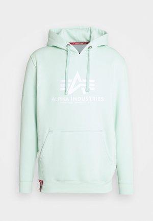 BASIC HOODY - Sweatshirt - mint
