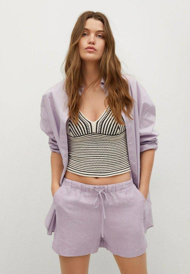 Shorts - violet clair/pastel