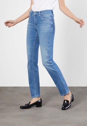 MELANIE  - Bootcut jeans - light blue