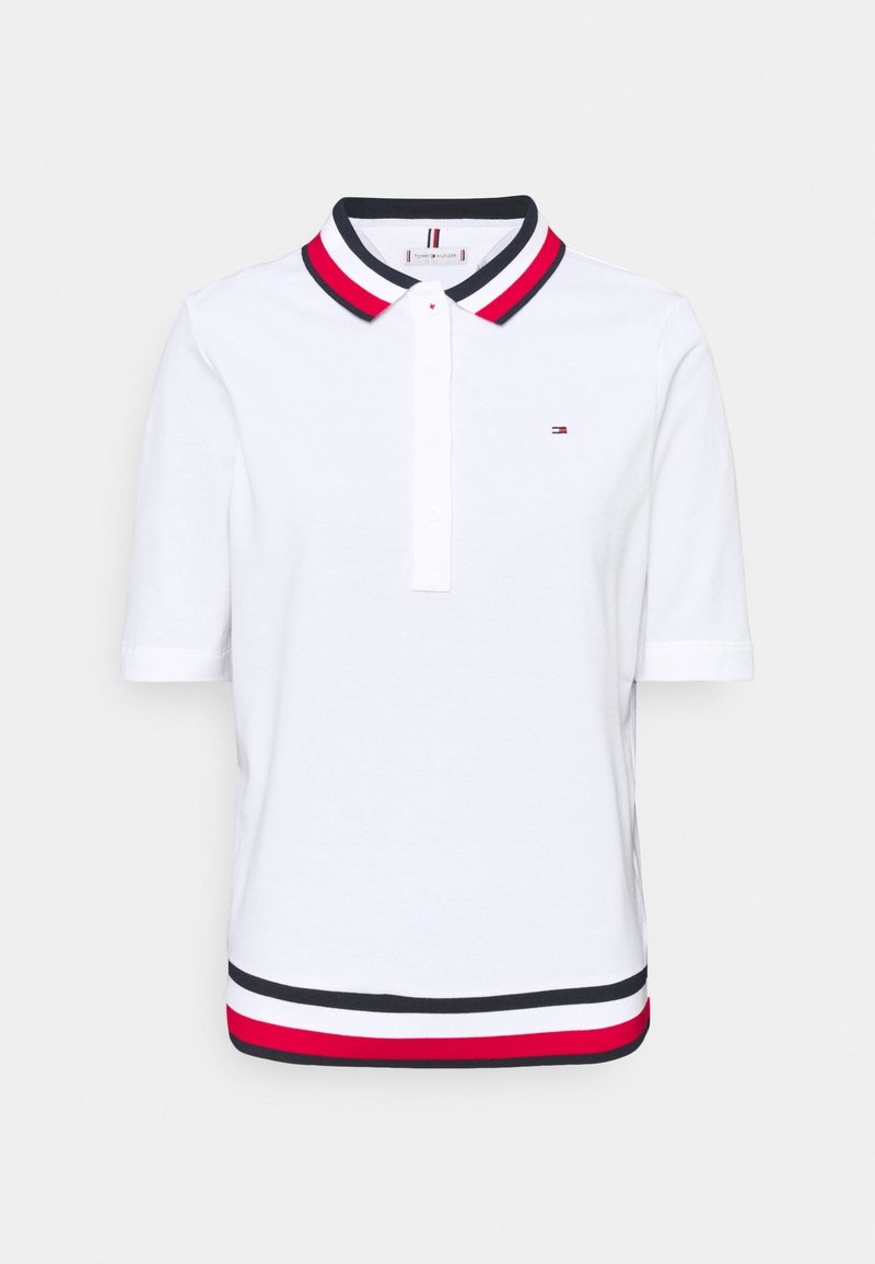 Tommy Hilfiger - REGULAR - Koszulka polo - white
