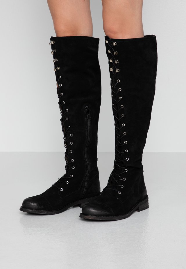 GREDO - Over-the-knee boots - black