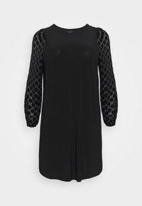 Evans - BLACK SPOT DRESS - Day dress - black - 4