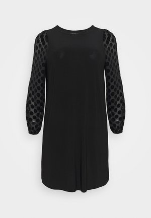 BLACK SPOT DRESS - Denní šaty - black