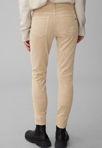Marc O'Polo - ALBY SLIM - Trousers - vintage stone - 2