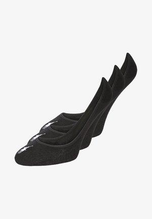 LOW LINER 3 PACK - Trainer socks - black