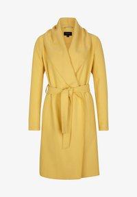 comma - Classic coat - yellow - 4