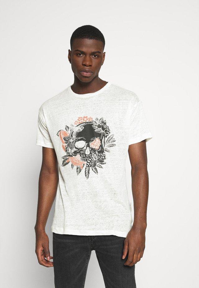 BECHUCK - T-shirts med print - white