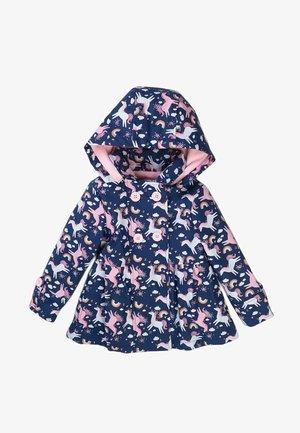 Light jacket - dark blue pink