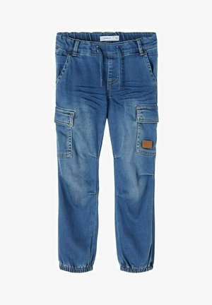 Jeans Straight Leg - medium blue denim