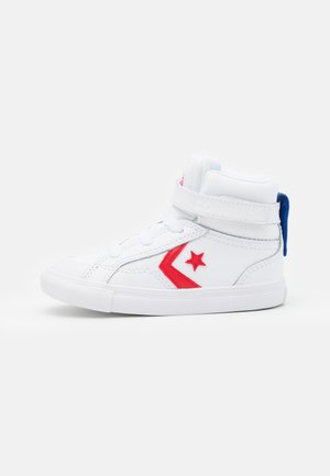 PRO BLAZE STRAP VARSITY UNISEX - Sneakers hoog - white/university red/blue