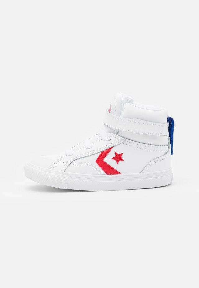 PRO BLAZE STRAP VARSITY UNISEX - High-top trainers - white/university red/blue