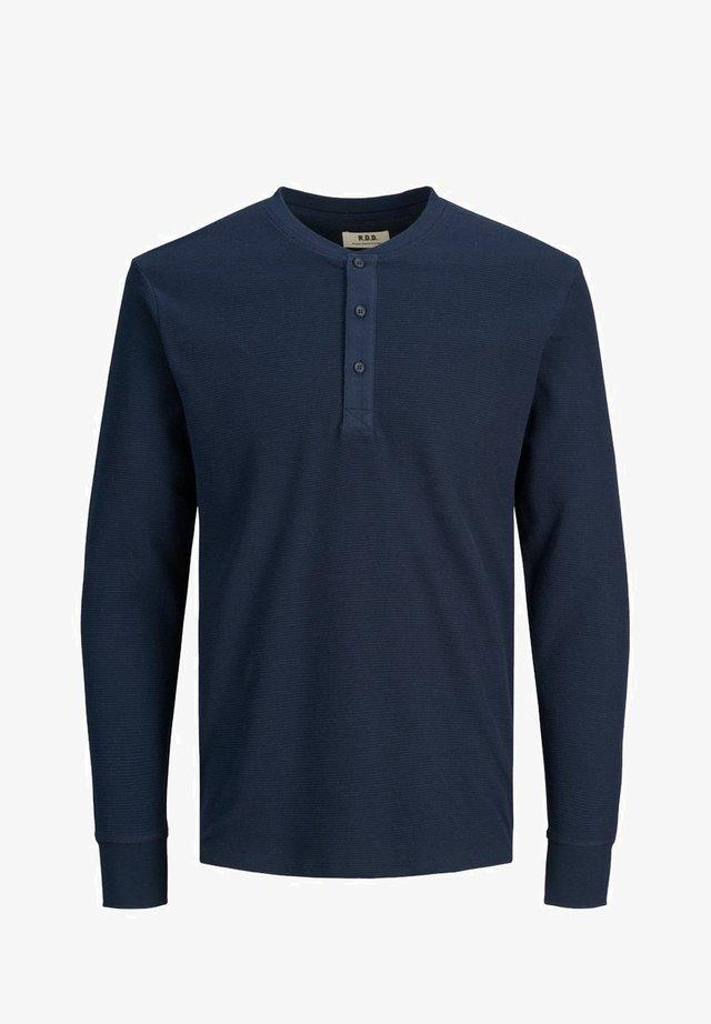 GRANDAD - Bluzka z długim rękawem - navy blazer