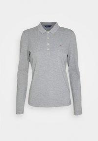 GANT - ORIGINAL - Polo shirt - grey melange - 0
