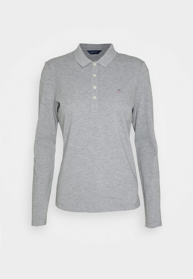 ORIGINAL - Polo - grey melange