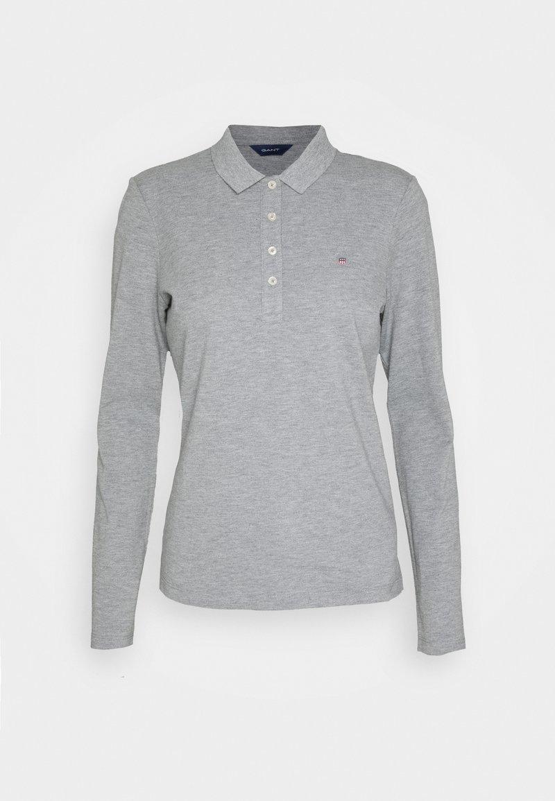 GANT - ORIGINAL - Polo shirt - grey melange