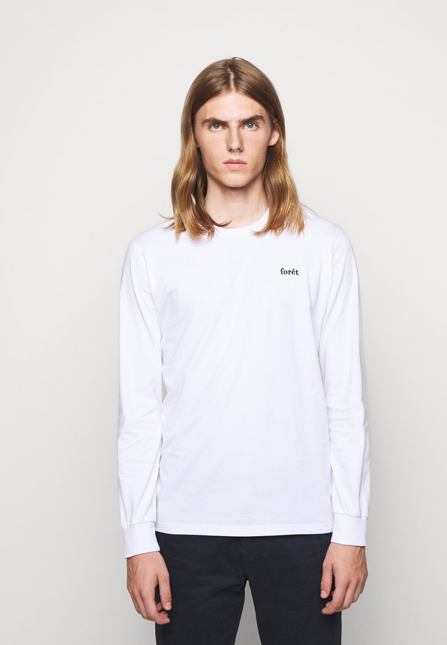 WIND LONGSLEEVE - Long sleeved top - white
